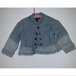 Genuine Kids by OshKosh Faded Ombré Denim Jacket